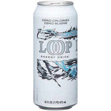 Loop Energy Drink, Sugar Free, 16 fl oz, (1 pt) 473 ml