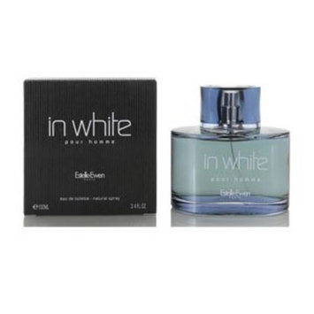 In White Pour Homme FOR MEN by Estelle Ewen - 3.4 oz EDT Spray