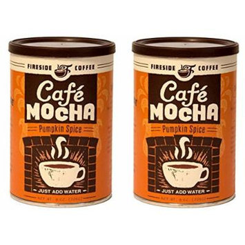 Fireside Instant Flavored Pumpkin Spice Coffee (Pack of 2)