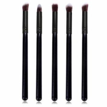 5 Pcs Wood Brush Blusher Makeup/Cosmetic Set Eye-shadow Foundation Tools LEO