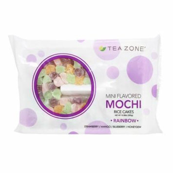 RAINBOW Mini Mochi Rice Cake Dessert Toppings by Tea Zone 10.58 Oz.