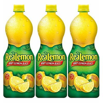 ReaLemon Lemon Juice - 32 Oz, (Pack of 3)