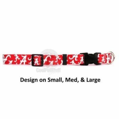 Alabama Crimson Tide Nylon Collar - Large