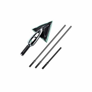 Unger Stingray Indoor Cleaning Kit with 3.5' Pole, Triangular Pad and Glass Cleaner, 1 each