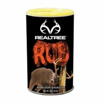 Realtree RT-RUB 8 oz BBQ & Wild Game Rub Shaker Can