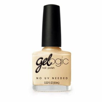 Pretty Woman Gelogic Gel Nail Polish in Champagne NO LED Light Needed VEGAN