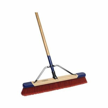 Cequent Consumer Products 3024A Push Broom, Fine Debris, 24-In.