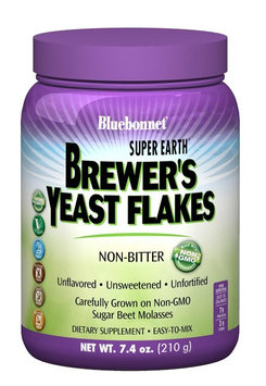 Neocell Super Earth Brewer's Yeast Flakes Bluebonnet 7.4 oz Powder