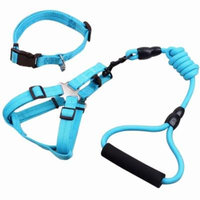 Legendog 3 Pack Pet Supplies Funny Dog Leash Dog Harness Collar Pet Supplies Set for Dogs Puppy