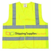 Shield Safety Polyester Fabric Large Size w/ Silver Reflective Tape 250 Pieces