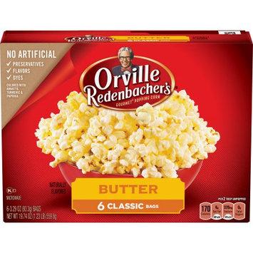 Conagra Foods Orville Redenbacher's Butter Microwave Popcorn - 6ct