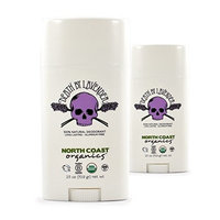 North Coast Organics Death By Lavender Deodorant (Pack of 2) With Coconut Oil, Carnauba Wax and Shea Butter, 2.5 oz Each