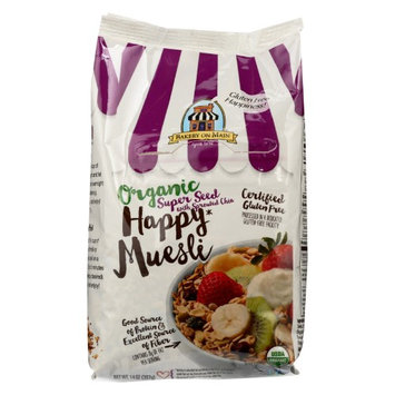 Bakery On Main BWA21953 4 x 14 oz Happy Organic Muesli Su- Seed with Sprouted Chia
