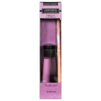 Candlelite Essential Elements 3.3-Ounce Reed Diffuser, Lavender and Cedarwood [Lavender and Cedarwood]