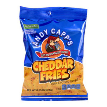 Andy Capp's Cheddar Fries 0.85 OZ, 72CT