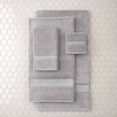 Loftex China Ltd Better Homes and Gardens Thick and Plus Bath Collection Bath Towel, Soft Silver