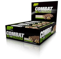 M.u.s.c.l.e. Muscle Pharm Combat Crunch Bars Chocolate Chip Cookie Dough - 12 Bars pack of 4