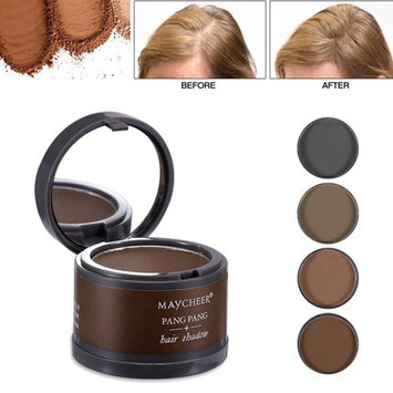 Magical Fluffy Thin Hair Powder Hair Line Shadow Makeup Hair Concealer Root Cover Up Instant Gray Coverage 4g