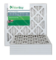 AFB Platinum MERV 13 12x12x1 (Actual Size) Pleated AC Furnace Air Filter. Filters. 100% produced in the USA. (Pack of 6)