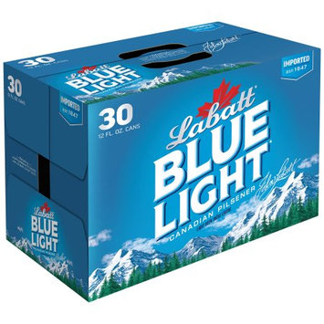 Labatt Blue Light Canadian Pilsener 30â 12 fl. oz. Cans