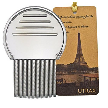 Utrax Baby Child Kids Pet Lice Louse Nit Flea Remove Terminator Comb with Notches for Head Treatment