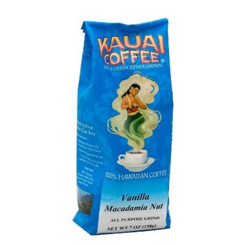 Kauai Coffee® Vanilla Macadamia Nut Medium Roast Ground Coffee - 7oz