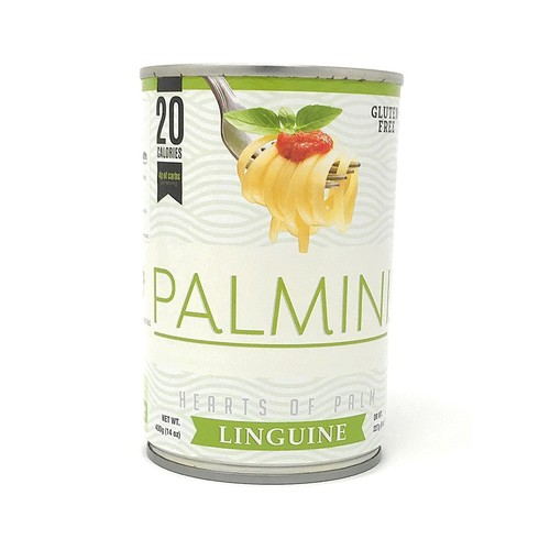 Palmini Pasta, 20 Calories, 4g of Carbs (14Oz) (Linguine)