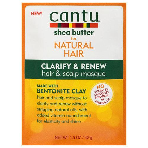 Cantu Shea Butter Clarify & Renew Hair & Scalp Masque
