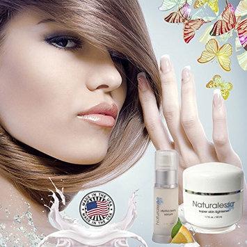 Super Skin Lightener Cream & Alpha Beta Serum-lightweight Treatment Gel - Pack of 2