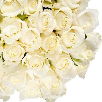 Natural Fresh Flowers - White Roses, 20