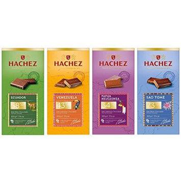 Hachez Chocolate Bar Set (4 x 100g)