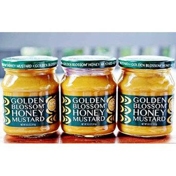 Golden Blossom Honey Mustard 8.5 oz.( 3 JARS )
