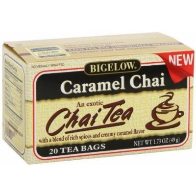 Bigelow Black Tea Caramel Chai - 20 Ct (Pack of 6) - Pack Of 6