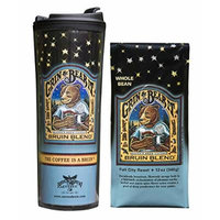 Whole Bean Coffee with Matching Tumbler, Bundle (Bruin Blend)