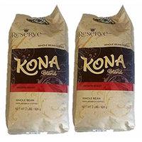 Hawaiian Gold Kona Coffee Gourmet Blend 2 Lb Bag (2 x Pack)