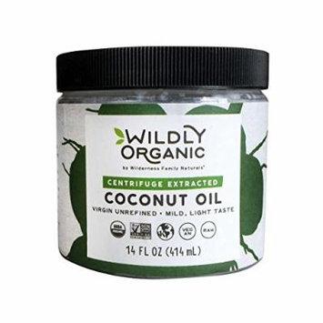Wildly Organic Centrifuge Extracted Coconut Oil - Virgin Unrefined (Same as Extra Virgin), Raw, Non-GMO, Vegan - 14 FL OZ