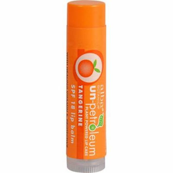 Alba Un-Petroleum Lip Balm with SPF 18 Tangerine -- 0.15 oz (pack of 4)