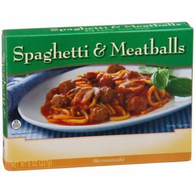 NUTRIWISE - High Protein Diet Entrée |Spaghetti & Meatballs| Low Fat, Low Calorie, Good source of Fiber (1 Serv)