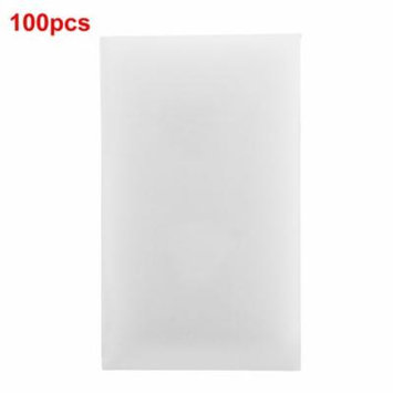 100pcs/lot White Magic Sponge Eraser Melamine Cleaner Multi-functional Cleaning Tool Materials Light Weight Kitchen Supplies