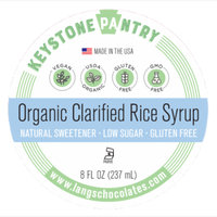 Keystone Pantry Organic Clarified Rice Syrup 8 fl oz Bottle