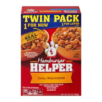 General Mills, Inc Hamburger Helper Chili Macaroni - 2 PK, 10.4 OZ