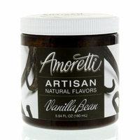 Amoretti Natural Artisan Flavor Vanilla Bean Flavoring, 5.54 Fluid Ounce