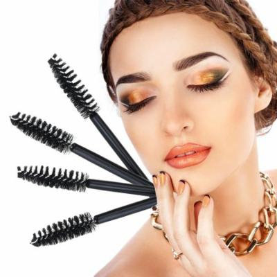 NUOLUX 100pcs Eyelash Brushes Wands Mascara Applicator
