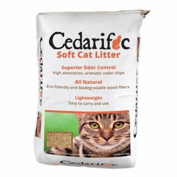 Northeastern Products Cedarific Natural Cedar Chips Cat Litter 50 Liter Bag