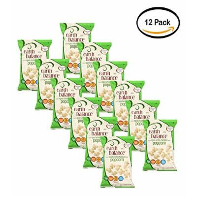 PACK OF 12 - Earth Balance White Cheddar Popcorn, 7 Oz