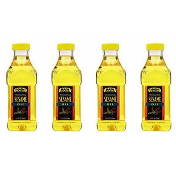 Hain Pure Foods Sesame Oil, 12.7 Ounce (Pack of 4)