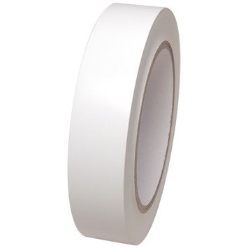 White Vinyl Tape 1 inch x 36 yd. Roll