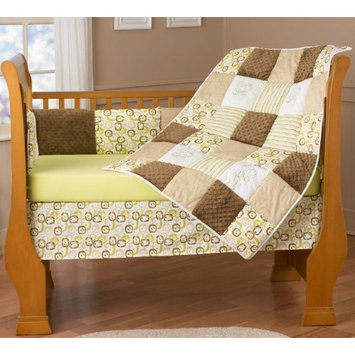 Step by Step Chelsea Pear 4 Piece Bedding Set