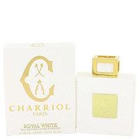 Charriol Royal White by Charriol Eau De Parfum Spray 3.4 oz for Men - 100% Authentic