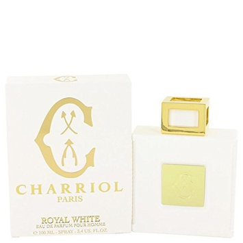 Charriol Royal White by Charriol Eau De Parfum Spray 3.4 oz for Men - 100% Authentic